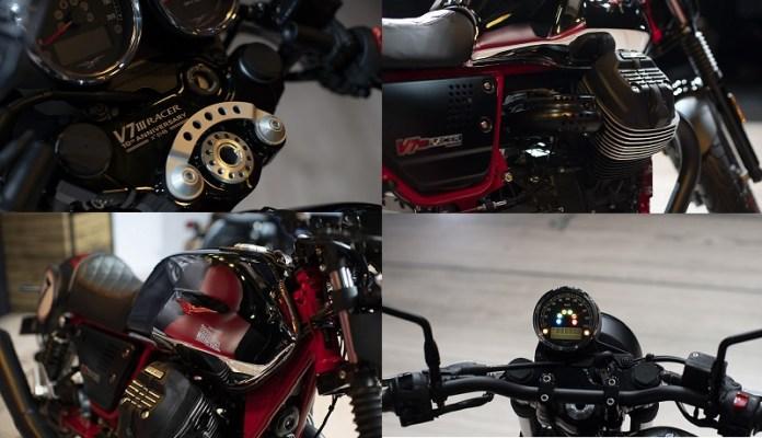 PT Piaggio Indonesia memperkenalkan generasi ketiga Moto Guzzi V7
