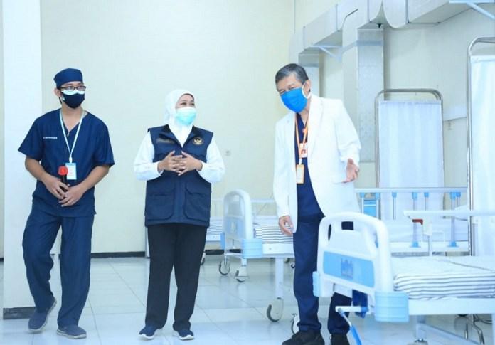 Gubernur Khofifah Tambah 18 RS Rujukan Covid-19 baru dan RS Darurat
