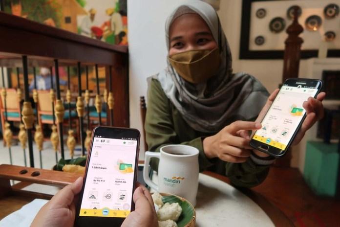Mandiri Syariah Sosialisasikan Fitur E-mas dari Handphone dengan Menggelar Webinar Pengelolaan Keuangan Berbasis Emas di Era Digital