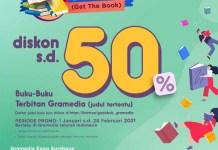 Awal Tahun, Gramedia Luncurkan Promo Gedebuk, Diskon Hingga 50%