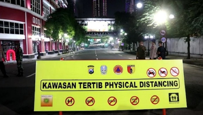 Jalan Tunjungan dan Raya Darmo Surabaya Akana Ditutup Lagi