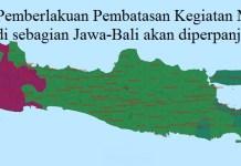 PPKM Jawa-Bali Akan Diperpanjang 2 Pekan