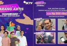 SCTV Gelar Lelang Barang Artis untuk Kalimantan Selatan dan Sulawesi Barat
