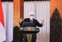 Mutasi Virus Corona B117 Masuk Indonesia, Gubernur Khofifah Minta Masyarakat Jatim Tetap Tenang dan Waspada