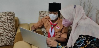 SD Al Islam Al Falah Surabaya Gelar Pondok Romadhon Virtual
