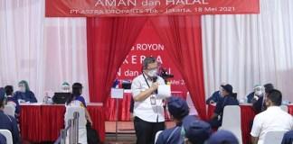 Grup Astra Lakukan Vaksinasi Gotong Royong Perdana untuk Pekerja