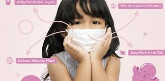 Momami Hadirkan Masker Untuk Anak Usia 2 Tahun Keatas