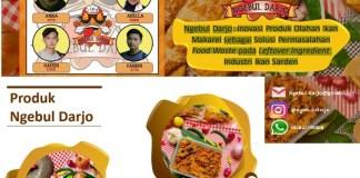 Ngebul Darjo, Bisnis Inovatif Tim ITS Manfaatkan Food Waste Ikan Makarel