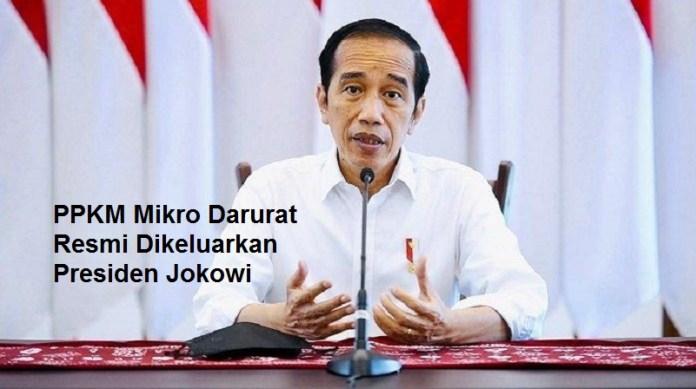 Ini Bocoran Aturan PPKM Mikro Darurat yang Resmi Dikeluarkan Presiden Jokowi