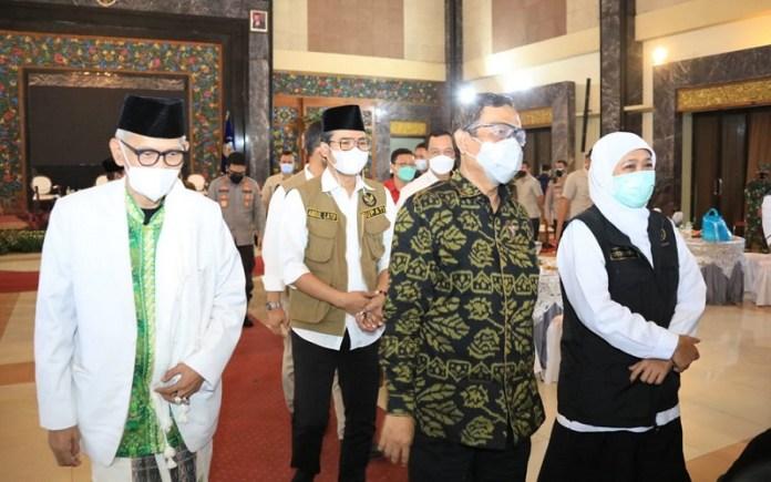 Pemprov Jatim Libatkan Kyai, Ulama, Tokoh Agama, serta Tokoh Masyarakat untuk Putus Rantai Penularan Covid-19 Varian Delta di Bangkalan