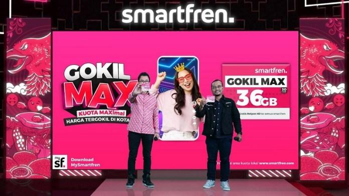 Smartfren Luncurkan Paket Gokil Max
