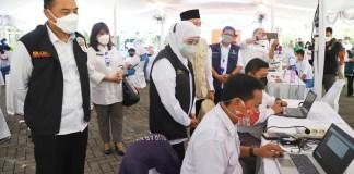 Jawa Timur Kejar Herd Imunity Pada HUT RI Ke -76