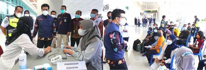 Tinjau Vaksinasi di T1 Juanda, Wagub Emil Ajak Peserta Vaksin Unggah Pengalaman ke Sosmed