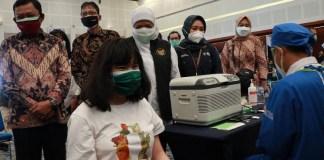 Bank Jatim Sukseskan Program Vaksinasi Bersama Sektor Jasa Keuangan Jawa Timur