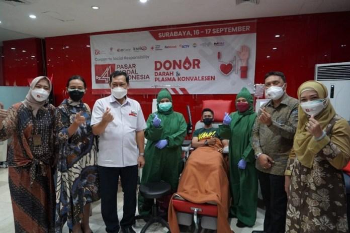Pasar Modal Indonesia Targetkan Ribuan Kantong Darah untuk PMI