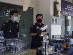 Dalam Satu Malam, Bea Cukai Gresik Gagalkan Penyelundupan 320 Ribu Batang Rokok Tanpa Cukai