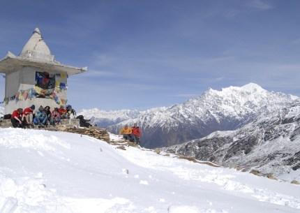 langtang nepal, Ganjala pass Trek