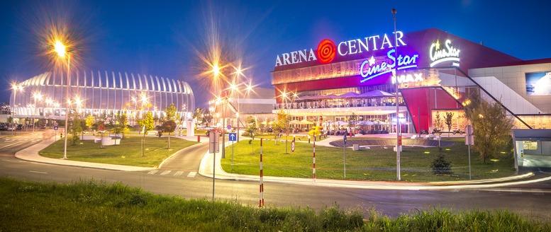 Arena Centar by Mario Poje