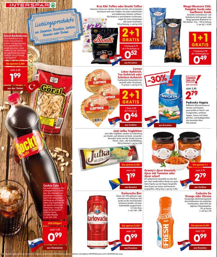 U Interspar-u Austria tjedan posvećen hrvatskim proizvodima