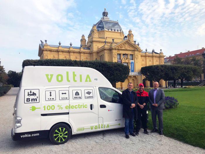 DPD testirao 100 % električno vozilo za dostave u centru grada Zagreba