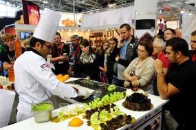 iba Halle A4 Fa. Food Products Live-Vorführung
