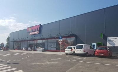 Tommy otvorio hipermarket u Zadru