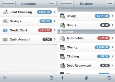 MoneyWell Screen shot - 1