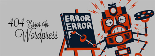 error in wordpress