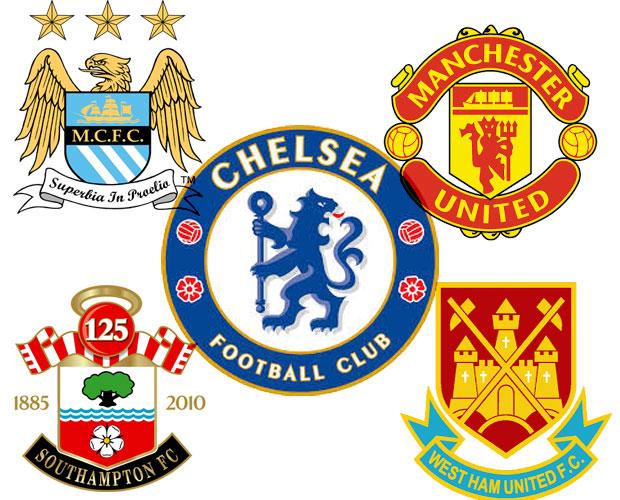 Klasemen Liga Primer, Chelsea, City, Manchester United