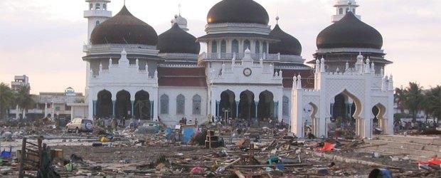 Tsunami Aceh, Peringatan, Masjid Raya Baiturrahman, Aceh