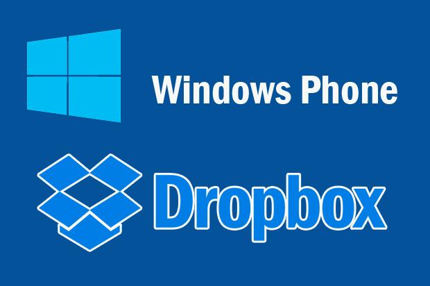 Dropbox, Windows Phone, Microsoft, Aplikasi Windows Phone