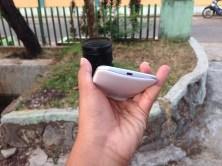 Sisi Bawah Motorola Moto G 2015 Putih