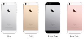 Empat Pilihan Warna Apple iPhone SE