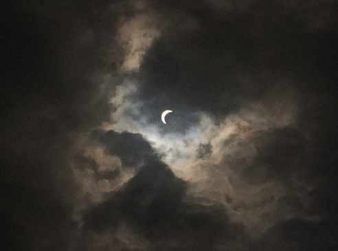 Foto Gerhana Matahari di Brunai 2016