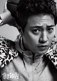 Jin Goo dalam sesi pemotretanJin Goo dalam sesi pemotretan