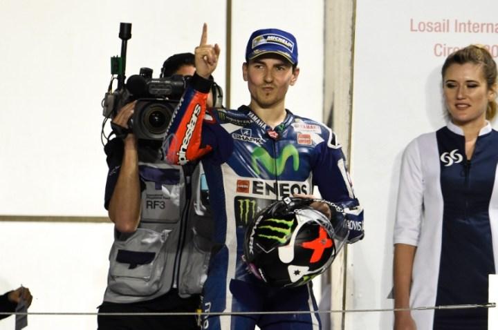Jorge Lorenzo menang di Losail Qatar MotoGP 2016