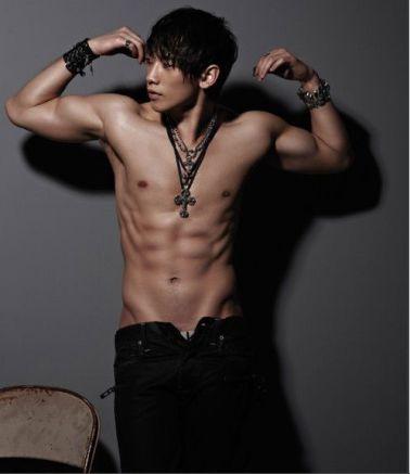Jung Ji-hoon (Rain) New Six Packs Photos