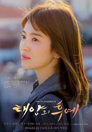 Poster Descendants of the Sun Song Hye-kyo