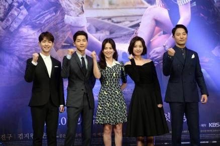 Pres Con Descendants of The Sun K-Drama
