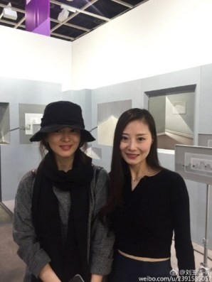 Song Hye-kyo bersama Liu Yujie