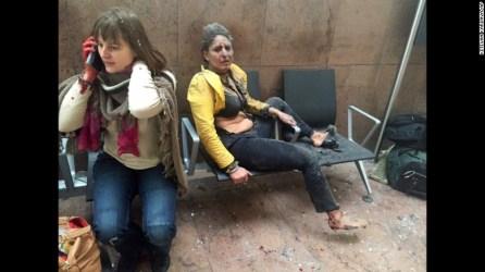 Update Brussels Airport and Metrostation under Attack Belgium
