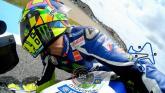 Aksi Valentino Rossi di Jerez Spanyol MotoGP