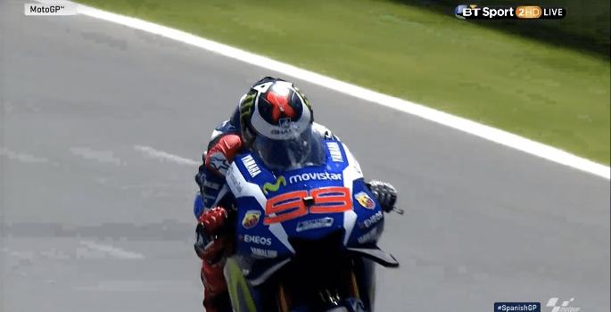 Jorge Lorenzo di Jerez MotoGP 2016