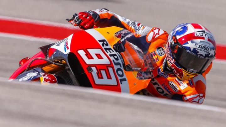 Marc Marquez Pole Position MotoGP Austin America 2016