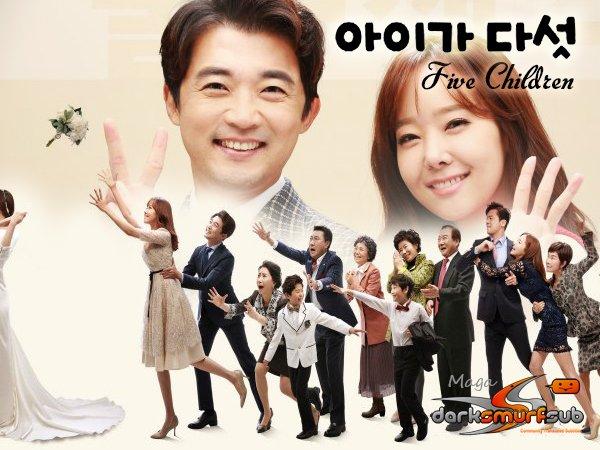 "Poster 3 K-Drama ""Five Children"""