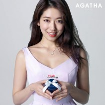 Park Shin Hye in a White Dress for a Photoshoot
