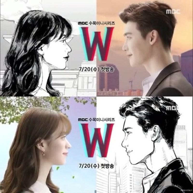 "K-Drama ""W - Two Worlds"" Poster 7"