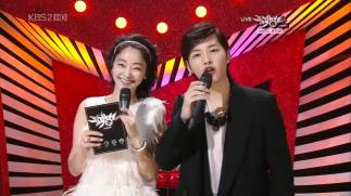 "Song Joong Ki at KBS TV Music Program ""Music Bank"""