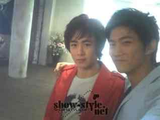 Taecyeon with his friend
