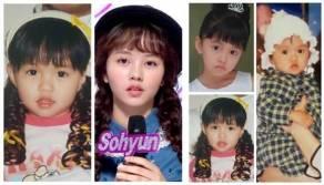 Foto Kim So Hyun's Childhood Photo Collection
